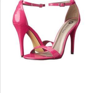 Shoes - FUCHSIA PAT HEELS